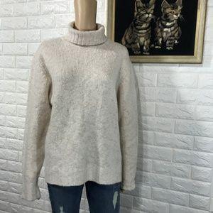 L.L. Bean Wool Turtleneck Sweater size XL